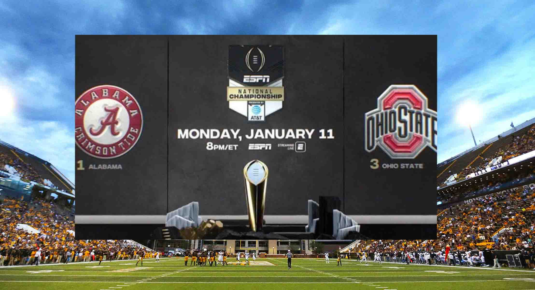 How to Watch CFP Final