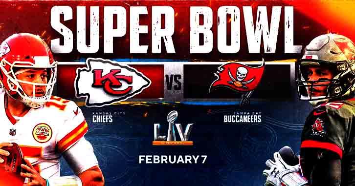 Kansas City Chiefs vs Tampa Bay Buccaneers Live Stream