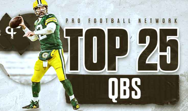 Top 25 quarterbacks in the NFL for the 2021 New season
